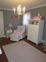 Pottery Barn Kids Chandeliers Pink And Gray Classic And Girly Nursery Project Nursery