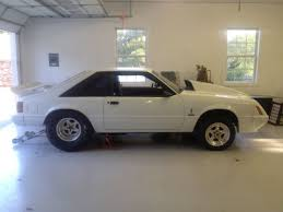 fox ford mustang for sale 1984 ford mustang roller drag race big tire gt350 fox gt for