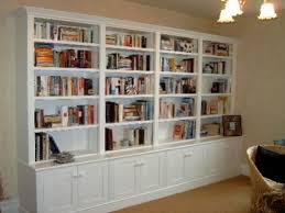 ideas for a large wall built in bookshelves ideas bookshelves