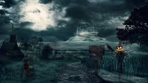 halloween background deviantart mysterious village by balint4 on deviantart