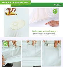 Free Crib Mattress Waterproof Crib Mattress Protector Hypoallergenic Bed Cover Made