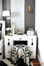 Makeup Bedroom Vanity Stunning Makeup Vanities For Bedrooms With Lights Photos Home