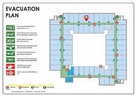 fire exit floor plan template stunning fire evacuation plan template free template 2018free