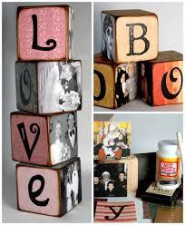 diy family memory letter blocks diy cozy home
