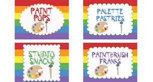 art party invitations u0026 printables birthday parties pbs parents