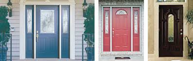 fiberglass front doors with glass residential exterior doors your complete buying guide