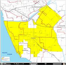 ventura county map county of ventura district 5 map
