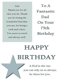 75th birthday card with cream envelope amazon co uk kitchen u0026 home