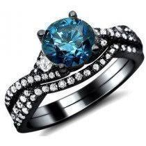 blue engagement rings buy blue engagement rings shop now and save
