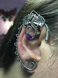 wire ear cuffs elven ear cuffs silver with fairy ear cuffs