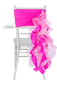 curly willow chair sash curly willow chair sash fuchsia new design cv linens