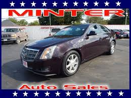 2009 cadillac cts manual minter auto sales quality used cars and trucks