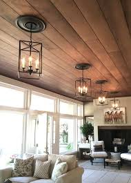 Living Room Ceiling Design by Best 25 Wood Ceilings Ideas Only On Pinterest Wood Plank