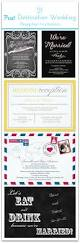 21 beautiful at home wedding reception invitations reception