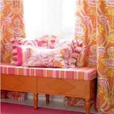 Pink And Orange Curtains 156 Best Pink Orange Room Images On Pinterest Bedroom Home