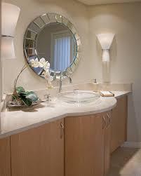 Glass Vanity Sinks Vessel Sinks Bathroom Contemporary With Double Vanity Bathroom Mirror
