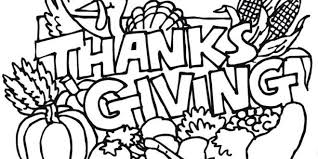 thanksgiving coloring pages drawing thanksgiving blessings