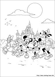 mickey coloring picture disney disney crafts craft