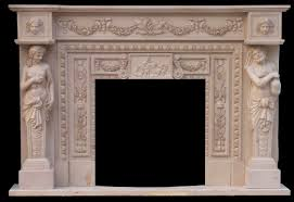 marble fireplace binhminh decoration