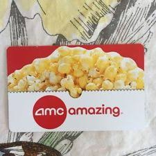 amc theaters gift card entertainment gift cards ebay