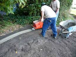 installation of landscape curbing youtube