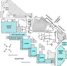 wedding floor plans seattle wedding space seattle waterfront weddings bell harbor