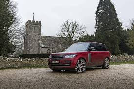 maroon range rover in photos range rover sv autobiography dynamic inside and out