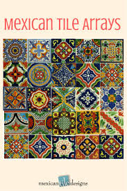 471 best mexican tile samples images on pinterest mexican tiles