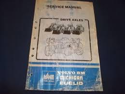 volvo ah45 ah31 drive axle service shop manual book u2022 34 99