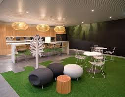 office interior background contemporary backyard concept and