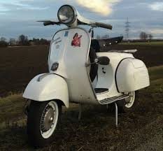 128 best white paint vintage vespa scooters images on pinterest