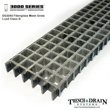 8 Floor Drain Grate by 8 U2033 X 48 U2033 Fiberglass Mesh Grate For 3000 Series U2013 Trenchdraingrates Com