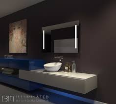 Bathroom Mirror Led Light by Dimmable Lighted Mirror Verano 48 X 28 U2013 Ib Mirror