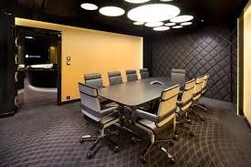 decoration elegant rectangular grey wooden conference table for