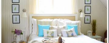 Beach Cottage Bedroom by Remodelaholic Beach Cottage Bedroom Makeover