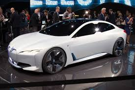 bmw electric car bmw latest electric concept car the i vision dynamics vibzn
