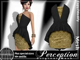 black and gold dress second marketplace perception bustier dress black gold