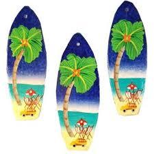 surfboard ornament the hawaiian home