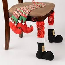 Christmas Chair Back Covers Christmas Chair Leg Covers Natal Pinterest Chair Leg Covers