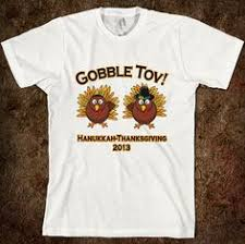gobble tov hanukkah thanksgiving t shirt thanksgiving tees