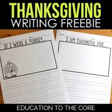 Thanksgiving Writing Paper Thanksgiving Writing Paper I Am Thankful For If I Were A Turkey