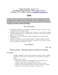 Event Coordinator Job Description Resume by Stephen Booth Fca Cv 2014 2