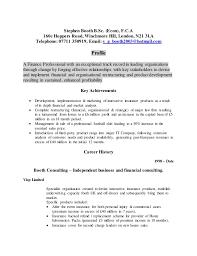 Cashier Job Resume by Stephen Booth Fca Cv 2014 2