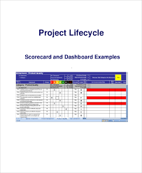 Scorecard Excel Template Project Scorecard Template 8 Free Word Excel Pdf Documents