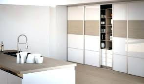 meuble de cuisine avec porte coulissante ikea cuisine porte placard interieur placard a porte coulissante