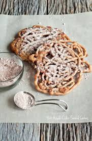 a good day recipe apple cider funnel cakes dine and dish
