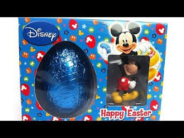 Mickey Mouse Easter Eggs Special Easter Mickey Mouse Egg Unboxing Asmr