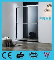 Shower Door Screen China 2 Sliding Door Screen Sliding Tempered Glass Door