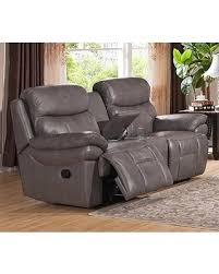 Grey Leather Recliner Sale Amax Leather Summerlands Leather Reclining Loveseat With