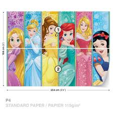 disney princess bird flower castle wallpaper wall murals art disney princess wall murals
